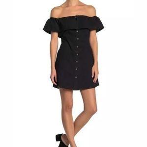 O'Neill off-the-shoulder summer mini dress Xs